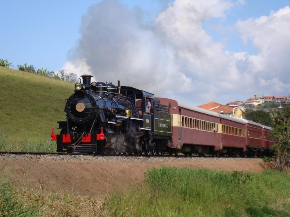 Trens de Passeio no Brasil!!! (3/4)