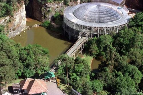 Opera de Arame. Curitiba, 15/11/98 Foto: Ricardo Almeida/SMCS