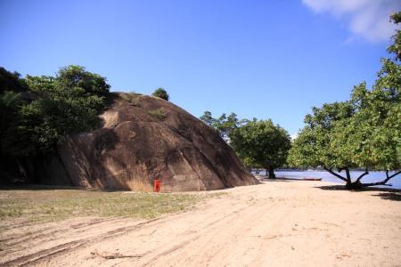 Pedra da Moreninha em Paquetá