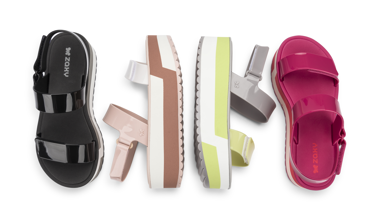 080f1a3cc3 Zaxy lança versão da famosa sandália Birken – Michele Viaja